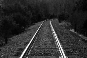 Train Tracks Crossing Appalachian Trl, Vernon, NJ